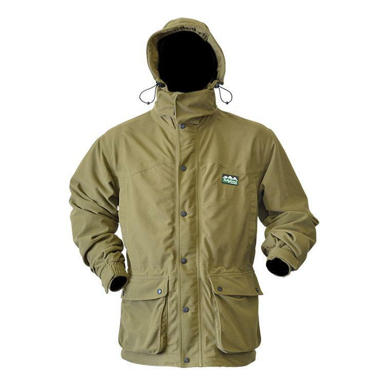 Ridgeline Torrent Euro III TEAK Jacket Waterproof Windproof Breathable Hunting