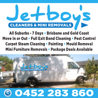JETBOY'S PEST CONTROL & CARPET CLEANING SERVICES.