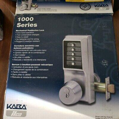 Kaba Simplex Ilco 1000 Series Combination Push Button Lock