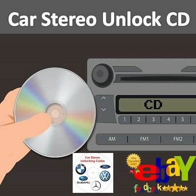 CAR RADIO UNLOCK CODE  & RECOVERY SOFTWARE. PROGRAM FOR CAR AUDIO & STEREO