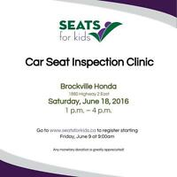 SEATS For Kids Car Seat Clinic