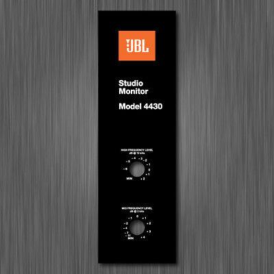 JBL 4430 STICKER LABEL FOILCAL