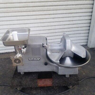 Hobart 84186 Buffalo Chopper Food Processor Side Dishcharger Ss Meat Grinder Att