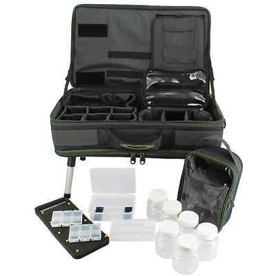 Carp Fishing Tackle Bivvy Table Box System Carryall Bag NGT Rig Station 588
