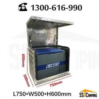 Sell Like hot Cakes !  Fridge AluminiumTool Box L750*W500*H600 Clayton South Kingston Area Preview