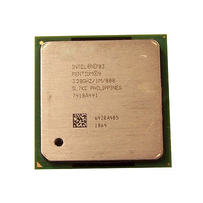 Intel SL6WF Pentium 4 2.40GHZ 512KB 800MHz FSB CPU Processor w// Thermal Grease