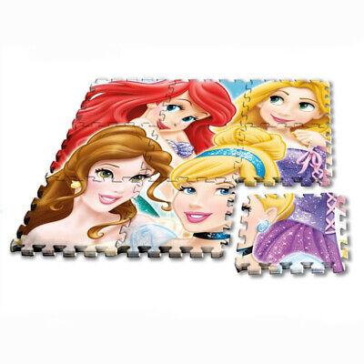 Matte Puzzle Disney Prinzessinnen Teppich Spiel Waschbar Babyzimmer - Baby Disney Prinzessinnen