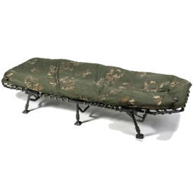 Nash scope ops bedchair with pillow and winter shroud