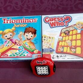 3 classic kids games age: 5+