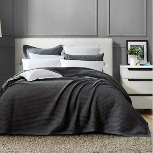 100% cotton large waffle blanket throw rug bed spread Rowville Knox Area Preview