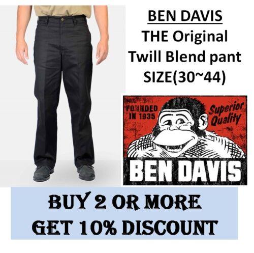 BEN DAVIS Original Pants, Bottom Sizes 30 to 50, 8Colors