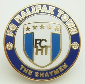 FC HALIFAX TOWN (Non-League) Pin Badge - NEW + FREE(UK)P&P