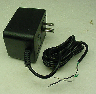 APX transformer 24 volt AC 1200ma 60hz 120 v 400ma UL grounded wall 3 prong plug ()