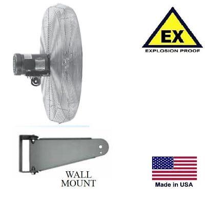30 Circulator Fan - Explosion Proof - Wall Mount - 240 Volts - 1 Ph - 5400 Cfm