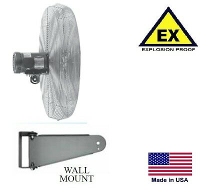Circulator Fan - Explosion Proof - Wall Mount - 30 - 480v - 3 Ph - 5400 Cfm