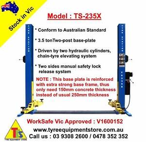 NEW 2-Post Car Hoist Garage Lift Car Lift WorkSafe Approved Craigieburn Hume Area Preview