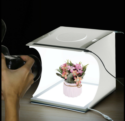 Foldable Portable Mini Photo Light Box Studio Home Photograp