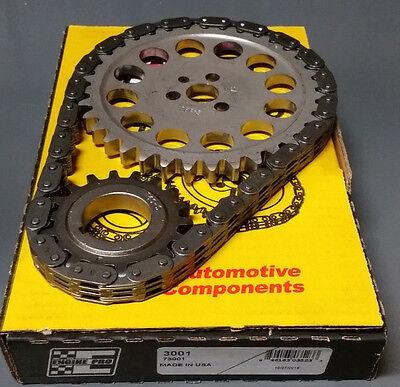 (GM SBC V8 Chevy Stock Timing Chain Set 5.7L 283 305 327 350 383 400)
