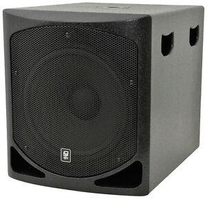 QTX SOUND QLB15A ACTIVE SUBWOOFER 15