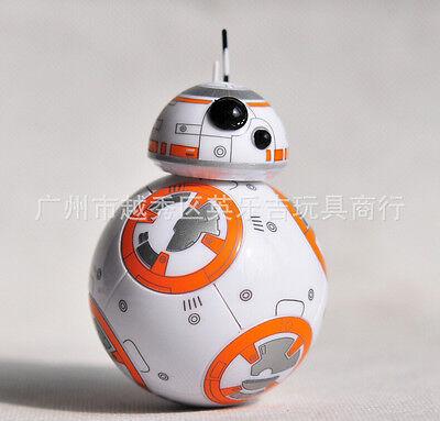 1Pcs Cartoon popular BB-8 Robot Tumbler action figure toys Party Gifts E-94
