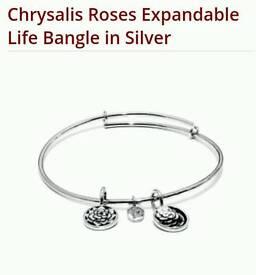 Chrysalis April birth stone bracelet
