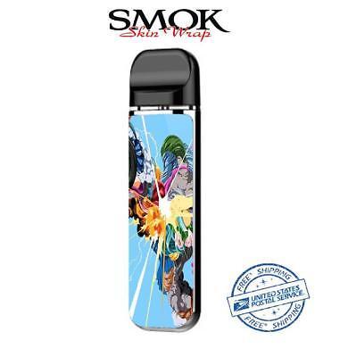 SMOK NOVO Skin Decal Protective Wrap Case Cover Sticker kit color blast