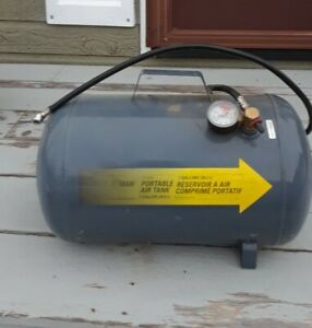 Portable Air Tank  compressor (Brand Air Man) 7 Gallon