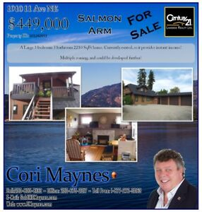 Great Investment Property! 1910 11 Ave NE Salmon Arm