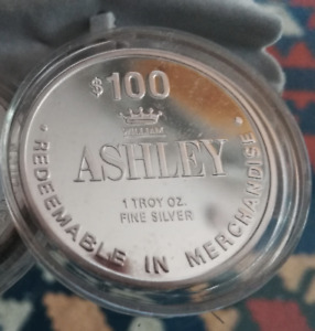 William Ashley's $100 gift card