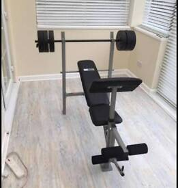 Pro power multi home gym and workout weight bench