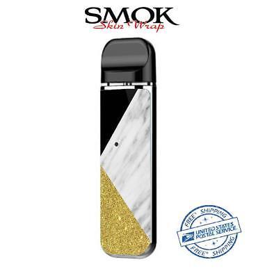 SMOK NOVO Skin Decal Protective Wrap Case Cover Sticker kit marble 82