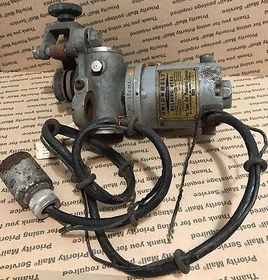 15 Amp 32v Brass Unionmelt Welding Head Motor Linde Air Union Carbide Carbon Ucc