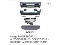 Range Rover sport autobiography kit