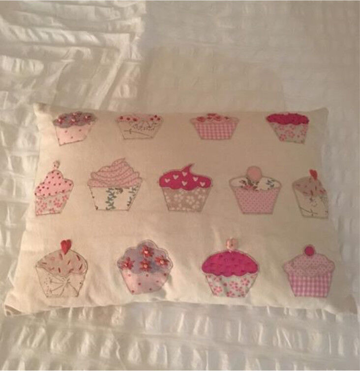 Laura Ashley Cupcake cushion