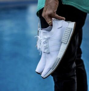 DS Adidas nmd pk White Gum sole