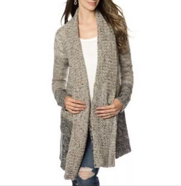 Splendid Ombre Wool Blend Cardigan Sweater Coat A Pea In The Pod Maternity
