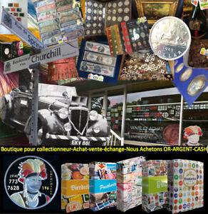 Boutique Numismatique pour collectionneurs et passionées