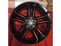"""18"""" BRAND NEW FORD ST 2 BLK STYLE ALLOY WHEELS TO FIT VOLVO JAGUAR FORD RENAULT"""