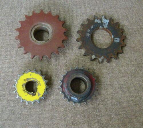 Sprockets 4 total variety Vintage sprocket machine parts