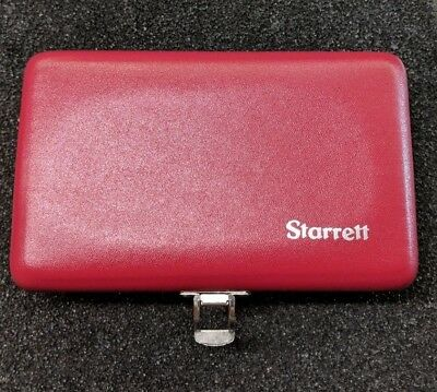 Starrett S384zz-1 Case Only For Parallel Set In Stock