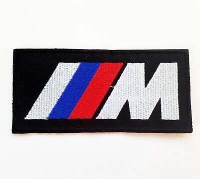 BMW Car M Series Iron On Patch Sew On Embroidered Patch T shirt Jacket Patch for sale  Shipping to Canada