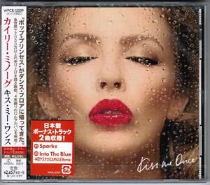 Pre-Order-KYLIE-MINOGUE-Kiss-Me-Once-JAPAN-1-CD-2-JAPAN-ONLY-BONUS-WPCR-15559