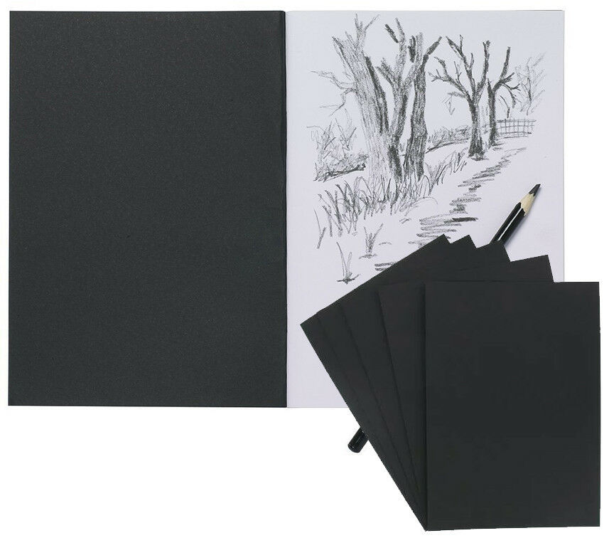 A4 A5 Drawing Sketch Book Draw Pad White Cartridge Paper Art Craft Painting