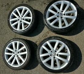 VW genuine Vancouver alloy wheels