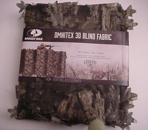 Camouflage Hunt Blind Fabric 3D Omnitex Leafy Mossy Oak Break-Up Country 12