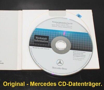 Mercedes W124 W 124 Werkstatthandbuch WIS   200D bis 500E  Original-Artikel!!