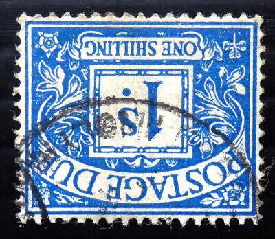 GB 1937 G.VI - 1/- Postage Due Sideways Inverted/WMK SGD33Wi SEE BELOW DL863