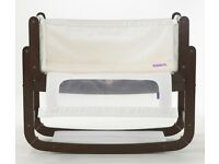 Snuzpod baby bed cot bedside crib + accessories
