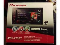 Pioneer AVH270BT double Din Headunit