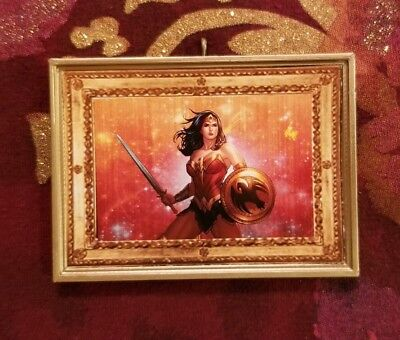 Wonder Woman Christmas Tree Ornament Inspired By Tough Girls Strong Women